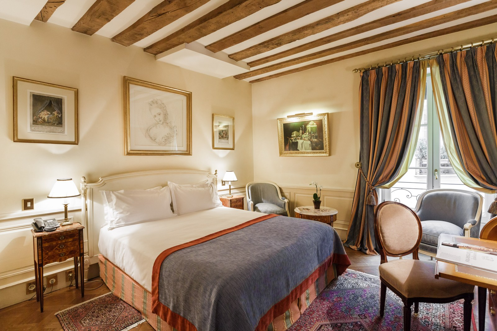 Chambres sup rieures h tel luxembourg parc paris for Chambre luxembourg