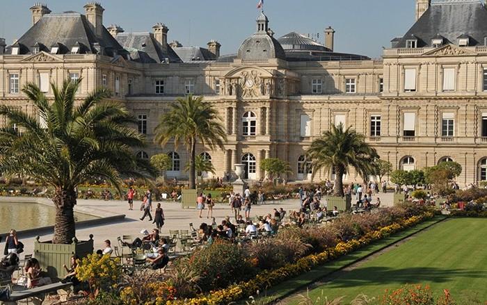 Bien tre h tel luxembourg parc paris site officiel - Petit jardin restaurant luxembourg le mans ...